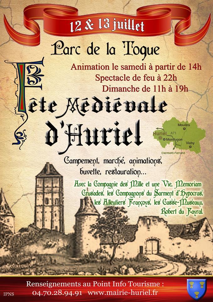 affiche médiévale 2014