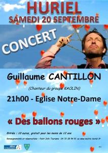 Affiche Guillaume Cantillon 2