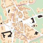 Miniature du plan du centre d'Huriel