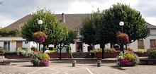 Vue mairie poste tourisme